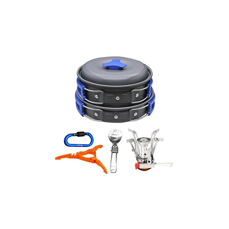 Juego de utensilios de cocina y estufa carabiner for Soporte utensilios cocina