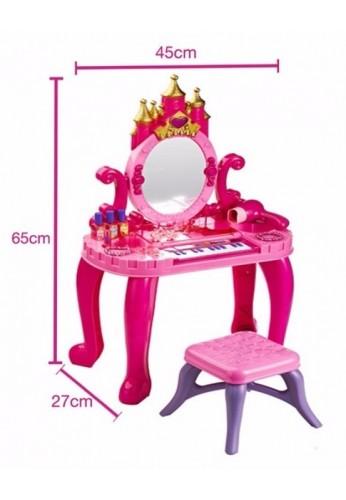 Tocador juguete para ni a con piano obsequio silla 16 acceso for Sillas para tocador